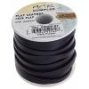 Flat Leather 5X2mm (10m Spool) Dark Purple